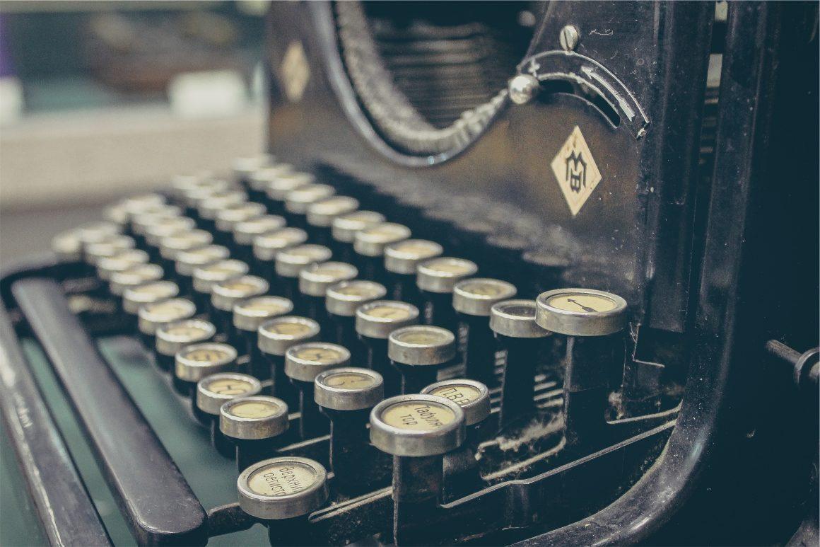 Splash image Scoop typewriter option 2